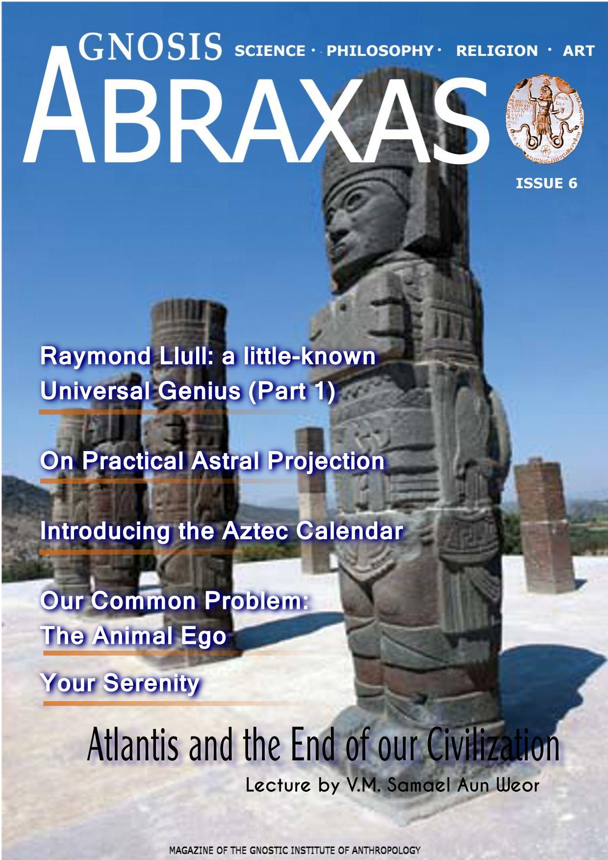 Cover Abraxas Magazine